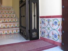 M s de 1000 ideas sobre azulejos pintados en pinterest - Zocalos de azulejos ...