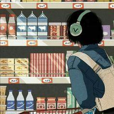 Aesthetic Japan, Aesthetic Art, Aesthetic Anime, Anime Scenery Wallpaper, Cute Anime Wallpaper, Kawaii Art, Kawaii Anime, Animes Wallpapers, Cute Wallpapers