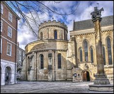 Temple Church from 1160 - Medieval London