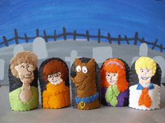Scooby-Doo Finger Puppet Set
