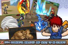 Downlpad Ninja Saga gratis for android