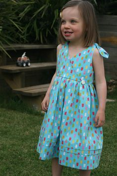 While she was sleeping: Kids Clothes Week - Project One