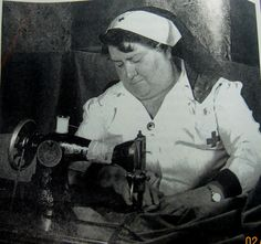 1942 Red cross production Corps Sewing.