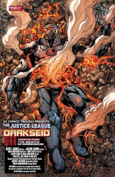 "Justice League - ""The Death of Darkseid"" written by Geoff Johns art by Jason Fabok & Brad Anderson Dc Comics Characters, Dc Comics Art, Marvel Dc Comics, Leer Comics Online, Anti Monitor, Geoff Johns, Univers Dc, Greatest Villains, Black Racer"