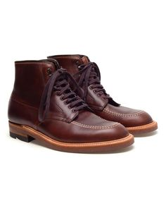 ALDEN 'Indy' Leather Brogue Boots