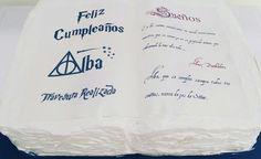 Tarta libro Harry Potter