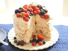 Verry Berry Pavlowa cake