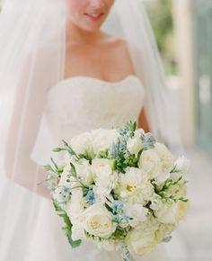 Preciosos Ramos de Novia con tonos Azules