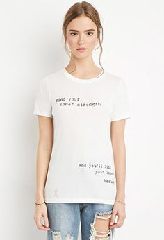 Find Your Strength Tee | Forever 21 - 2000146838