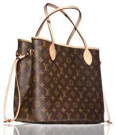 Louis Vuitton Neverfull GM.  This is a stylish and classic bag for a mommy on the go -- so roomy and so easy to grab what you're looking for.