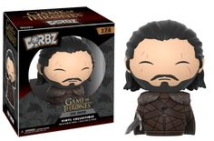 From Game of Thrones, Jon Snow, as a stylized Dorbz vinyl from Funko! Figure stands 3 inches and comes in a double sided window display box. Check out the other Game of Thrones figures from Funko! Game Of Thrones Figures, Funko Game Of Thrones, Game Of Thrones Fans, Jon Snow, Crash Bandicoot, Red Dead Redemption, Action Toys, Action Figures, Pokemon Go