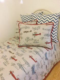 Vintage Air Twin/ Full/ Queen Size Bedding- MADE to ORDER- You choose size on Etsy, $199.00