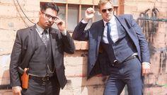 John Michael McDonagh, Alexander Skarsgard et Michael Peña présentent à…