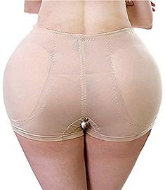 Tenrry Womens Boyshorts Panties with Butt Pads Hip Enhancer Body Sculpting Underwear