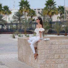Dubai style  ph: do querido @hickduarte #camievictakeDubai #mydubai #ootd #allwhite #camilook