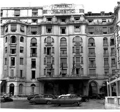 The front of the Hotel Majestic Barrière