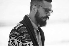 Inked Bearded Man Portraits - The Josh Dane by Justin Ruhl Editorial is Hipster Chic (GALLERY)