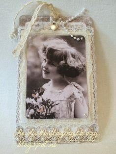 Heidis kortlagingsblogg: Vintage bokmerke