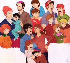 A Medley Of Families by xNoWherex on deviantART