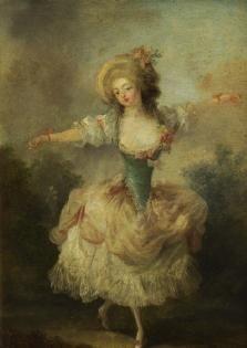 Dancer, c. 1750 by Jean-Frederic Schall (1752-1825) (Waddesdon)