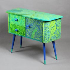 Zen cabinet chest of drawers home décor custom by ArtPoPo on Etsy