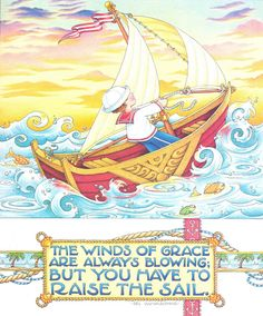 Artwork: Mary Engelbreit / Quote: Sri Ramakrishna