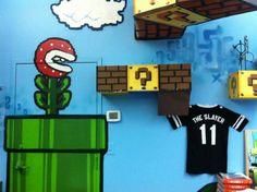 Creating a Video Game Themed Room | Home Decorating Ideas