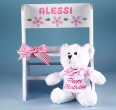 Get Personalized Step Stool First Birthday Gift Girl Discover The Unique Gifts For New Parents