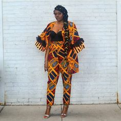 Ankara two-piece outfits are exceptional because you can pair the top or the bottom with something else and the look stylish ankara two piece styles 2018 African Fashion Designers, African Fashion Ankara, African Inspired Fashion, African Print Fashion, Fashion Prints, Latest Ankara Dresses, Ankara Dress Styles, African Print Dresses, African Dress