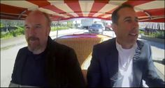 "Jerry Seinfeld and Louis C.K. in a 1959 FIAT ______.   If you've seen this episode of ""Comedians in Cars Getting Coffee"" chime in with the answer of what FIAT model they're in!  #Comedians in #FIATS"
