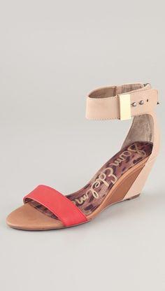 3930d09f2c66 Sam Edelman Sophie Low Wedge Sandals Low Wedge Sandals