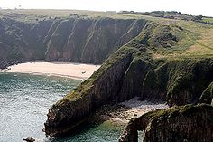 Pembrokeshire, Wales, where my Father's family come from: the Griffiths's