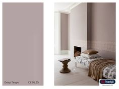 Taupe - den nye fargekolleksjonen for 2013 fra  NordsjoFarger.blogspot.no Taupe, Construction, House Design, Colours, Bed, Furniture, Danish, Walls, Home Decor