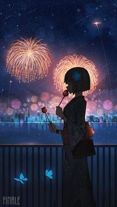 Anime Girl Neko, Cool Anime Girl, Anime Art Girl, Manga Art, Kawaii Anime, Emo Wallpaper, Anime Scenery Wallpaper, Anime Galaxy, Image Manga