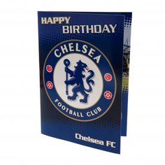 Chelsea F. MUSICAL Birthday Card: Country: England Wish them happy birthday with their favorite team Chelsea. Cool birthday card for Chelsea fans. Chelsea Fc, Football Chelsea, Club Chelsea, Uk Football, Musical Birthday Cards, Cool Birthday Cards, Birthday Messages, Happy Birthday Celebration, Happy Birthday Flower