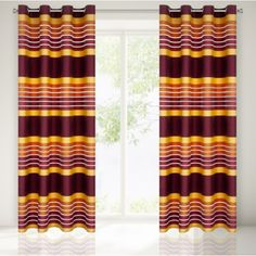 Oranzove dekoracne zavesy na okno Curtains, Shower, Home Decor, Insulated Curtains, Homemade Home Decor, Blinds, Rain Shower Heads, Draping, Decoration Home