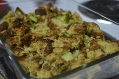 Canyon Bakehouse Stuffing... My favorite GF bread turned into stuffing trying this out on Turkey day!