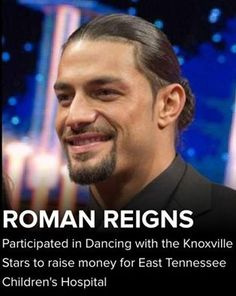He's such a sweetheart. I can't dance at all but I would try my best if I could dance with Roman <3
