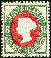 Briefmarkensammlung Helgoland