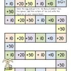 Here's a fun freebie that comes in two levels- adding  2 multiples of ten or adding a multiple of ten to a two digit number.     Perfect for Spring T...