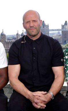 Jason Statham Family, Jason Statham Movies, Jason Stathman, Gorgeous Men, Beards, Men Casual, Entertainment, People, Mens Tops