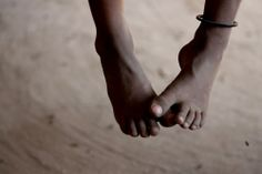 Little feet, i hope you get to go places Photo by Zahra Khan -- National Geographic Your Shot