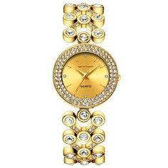 Enter the world of Hollywood Luxe and discover the latest trends and products for affordable prices and free worldwide shipping. Golden Watch, Branded Bags, Set Design, Custom Logos, Luxury Watches, Bracelet Watch, Diamond, Lady, Bracelets
