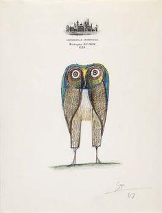#ARTIST Saul Steinberg