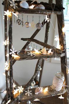 A Coastal Christmas Ladder