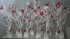 Handmade Wedding Tree Centerpieces: Wedding centerpiece tree branches diy faux birch candles and. Store centerpiece dollar tree wedding and diy centerpieces. Tree Wedding Centerpieces, Wedding Table Centerpieces, Wedding Decorations, Table Decorations, Manzanita Tree Centerpieces, Centerpiece Ideas, Birch Tree Wedding, Dollar Tree Wedding, Branches Wedding