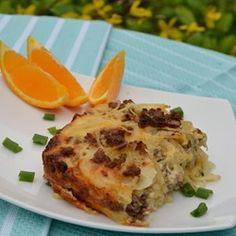 Sausage Hash Brown Breakfast Casserole - Allrecipes.com