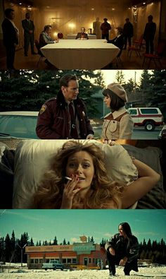 Fargo season 2 - just as good as season 1 (Yes! I forgot it was on my DVR and I watched the whole series over 2 nights. It was excellent. Cinematic Photography, Film Photography, Fargo Tv Show, Fargo Season 2, Season 1, Film Composition, Movie Color Palette, Cinematic Lighting, Movie Posters