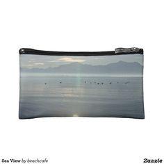 Sea View Makeup Bag