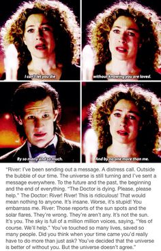 The Wedding Of River Song- ahhhhhhhhhh love this scene can never not rep in it!!